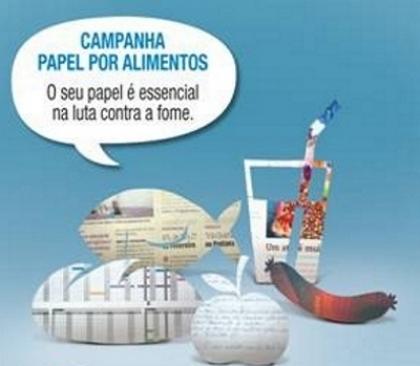 """Concelho adere à campanha """"Papel por Alimentos do Banco Alimentar Contra a Fome"""
