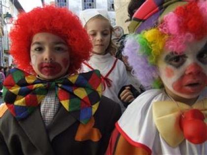 Magia e Fantasia no desfile de Carnaval de crianças de Monção