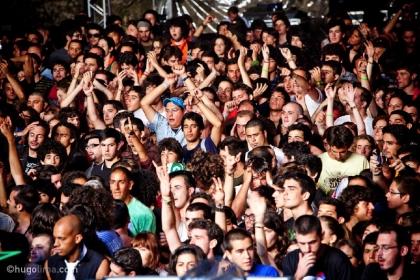 Ornatos Violeta no festival EDP Paredes de Coura
