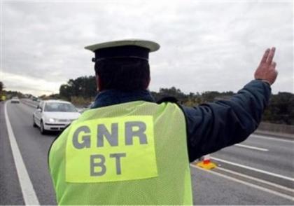 GNR apanha 45 condutores com álcool no fim de semana