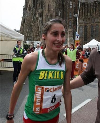 Valenciana Solange Pereira ganha prova da Sagrada Família de Barcelona
