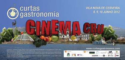 'Cinema Cru' e o 'Esperanto na Gastronomia' são as novidades da 3ª edição das 'Curtas da Gastronomia'