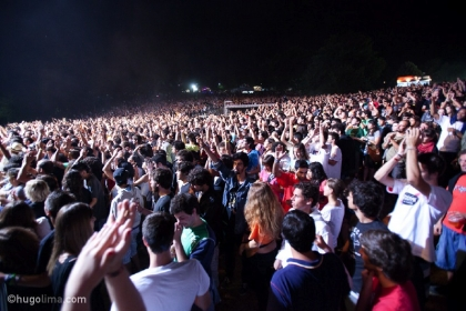 The Temper Trap no 20º EDP Paredes de Coura