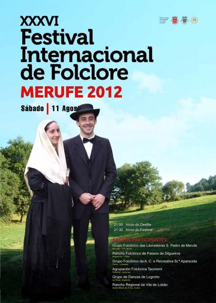 """""""Merufe 2012"""": Festival mais antigo do concelhojunta portugueses e espanhóis"""