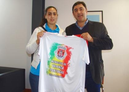 Atleta Valenciana Inês Fernandes nos Para Olímpicos em Londres