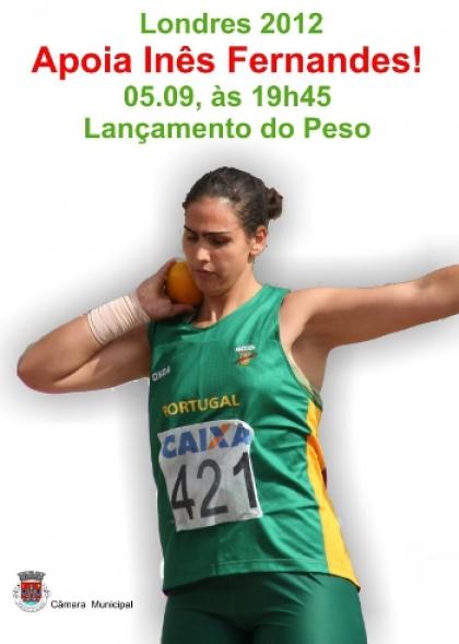 Inês Fernandes compete amanhã pelas 19h45 nos Jogos Para Olímpicos