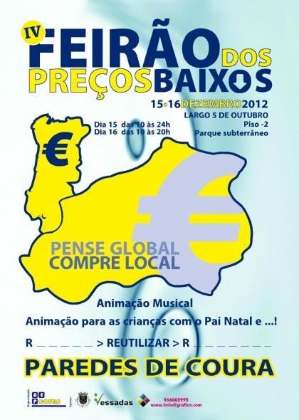 Feirão dos Preços Baixos dinamiza comércio tradicional do concelho
