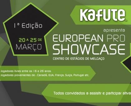 I European Pro Showcase traz jovens jogadores de vários cantos do mundo