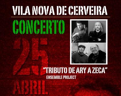 """Tributo de Ary a Zeca"" será primeiro concerto no renovado Cineteatro"