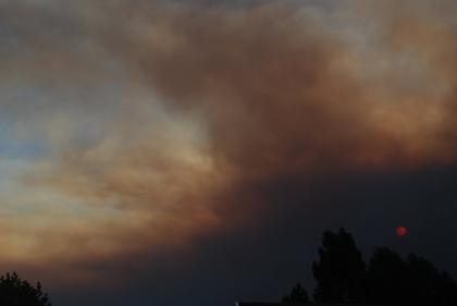 Incêndio em prédio obriga a realojar moradora