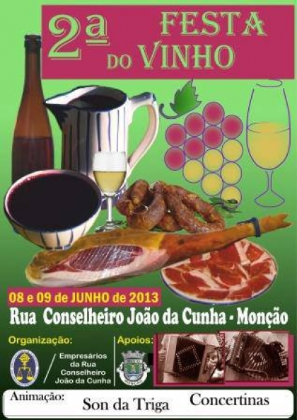 Festa do Vinho: Comerciantes da Rua Conselheiro João da Cunha promovem os seus produtos