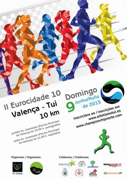 II Eurocidade 10 quer ultrapassar 400 participantes de 2012