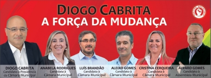 Autárquicas 2013: Diogo Cabrita (PS) apresenta listas aos diversos órgãos