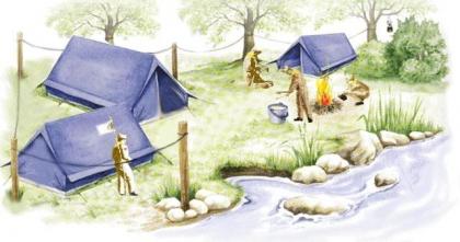 Jovens de Fontoura despedem-se de Verão com acampamento lúdico-pedagógico