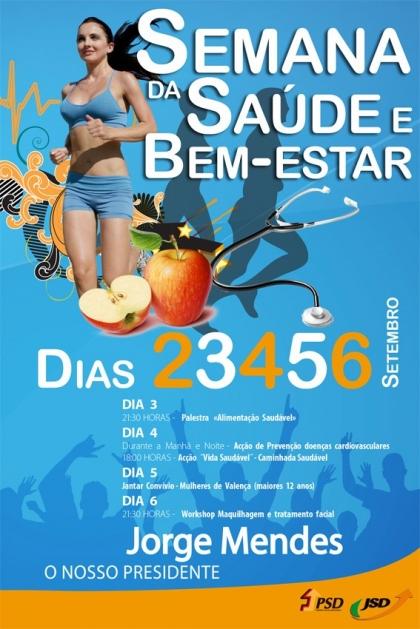 Autárquicas 2013: PSD promove 'Semana da Saúde e Bem-Estar'