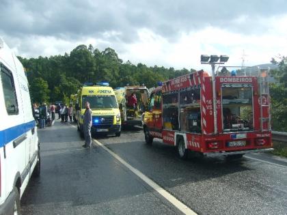 Condutora não resistiu aos ferimentos provocados no acidente na Valinha