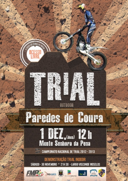 Concelho acolhe Final do Campeonato Nacional de Trial Outdoor