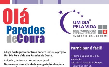 """Centro Cultural recebe """"Um Dia Pela Vida de Paredes de Coura"""""""