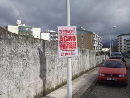 Agro: Câmara autorizou cartazes mas vai exigir limpeza