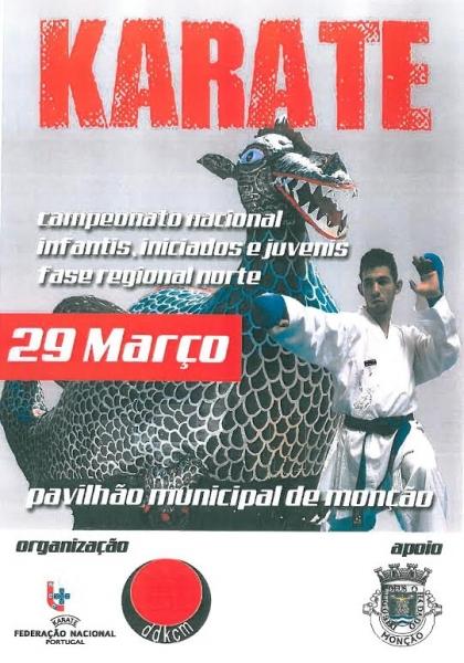 Monção recebe este sábado meio milhar de karatecas