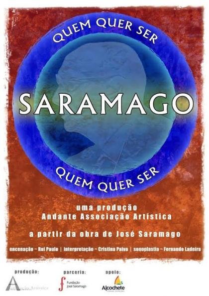Quem quer ser Saramago? sobe ao palco do Cineteatro no dia 24 de Abril
