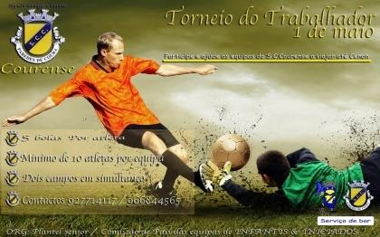 Sp. Clube Courense realiza hoje Torneio do Trabalhador
