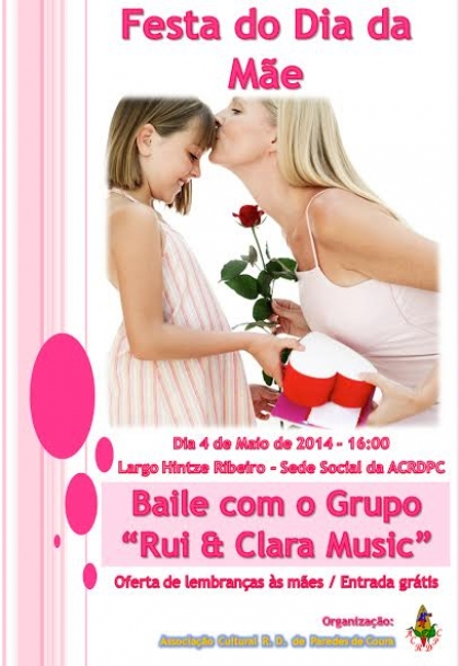 Sede da ACRD Paredes de Coura recebe hoje festa para as mães do concelho