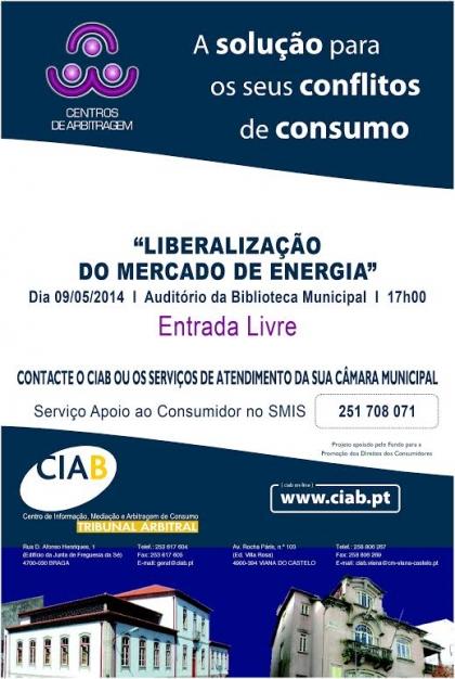 Biblioteca Municipal recebe sessão sobre liberalização do mercado de electricidade e gas natural