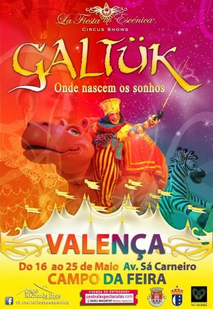 Circo Fiesta Escenica chega a Valença esta sexta-feira