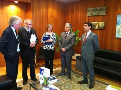 Finisterra: Representantes da CIM formalizam proposta de protocolo de cooperação com Conselho Geral