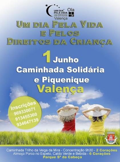 """Valença recebe caminhada """"Um Dia pela Vida e pelos Direitos da Criança"""""""