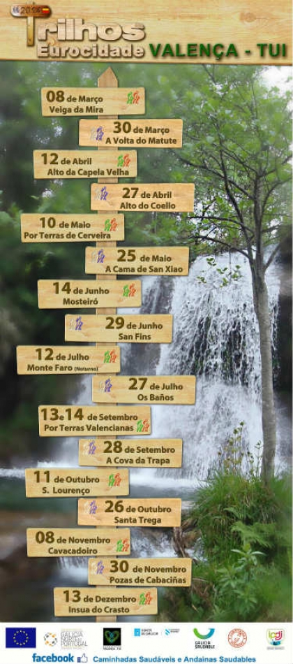 Município promove este sábado caminhada no Trilho de Mosteiró