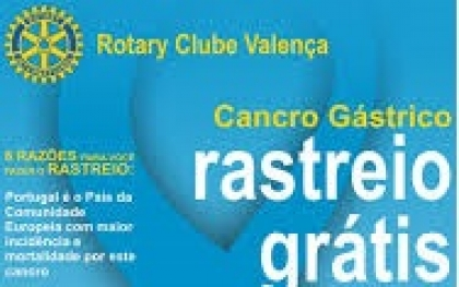 Rotary de Valença promove rastreio ao cancro gástrico no próximo domingo