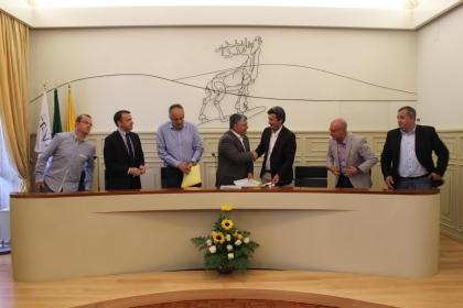 Parceria entre Município e CEVAL garante maior atratividade ao tecido  empresarial do concelho
