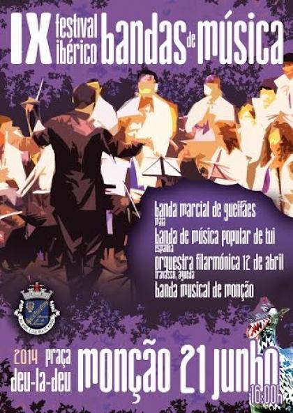 Festas de Monção: Realiza-se hoje o IX Festival Ibérico de Bandas Filarmónicas