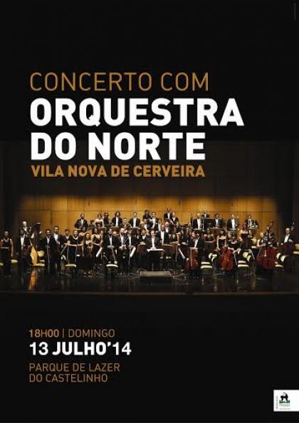 Orquestra do Norte actua no Parque de Lazer do Castelinho a 13 de Julho