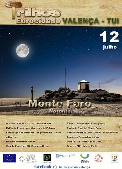 Câmara de Valença promove este sábado caminhada noturna