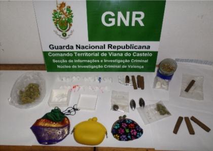 Valença: GNR deteve 10 indivíduos por posse e tráfico de droga