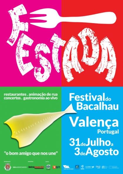 Valença: Festival do Bacalhau arranca esta quinta-feira
