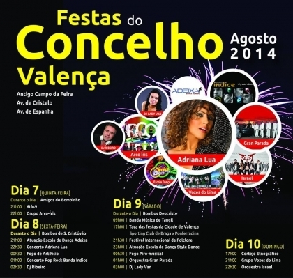 Festas de Valença encerram este domingo com cortejo etnográfico