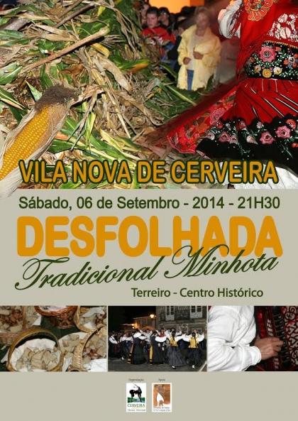Cerveira: Centro Histórico recebe desfolhada tradicional no próximo sábado