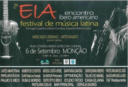 Monção: Rua pedonal recebe Festival de Música Latina no próximo sabado