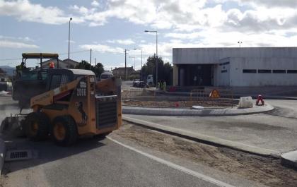Monção: Rotunda junto ao Centro Coordenador de Transportes está quase pronta