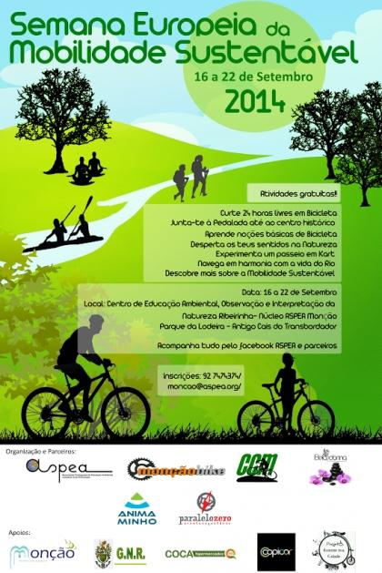 Monção: ASPEA assinala Semana Europeia da Mobilidade Sustentável
