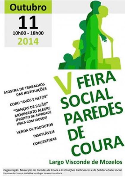Paredes de Coura: Largo Hintze Ribeiro recebe V Feira Social este sábado