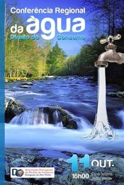Monção: Cine Teatro João Verde recebe este sábado a Conferência Regional da Água