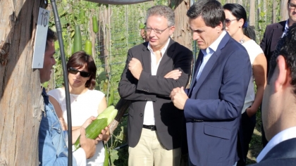 Paredes de Coura: Secretário de Estado louvou a coragem dos agricultores portugueses
