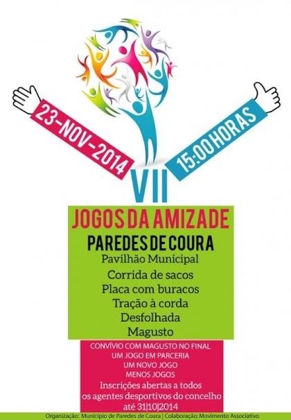 Paredes de Coura: Pavilhão Municipal recebe este domingo a VII edição dos Jogos da Amizade