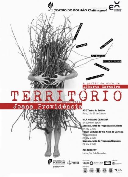 Teatro: Vila Nova de Cerveira recebe 'Território' entre esta quinta e sábado
