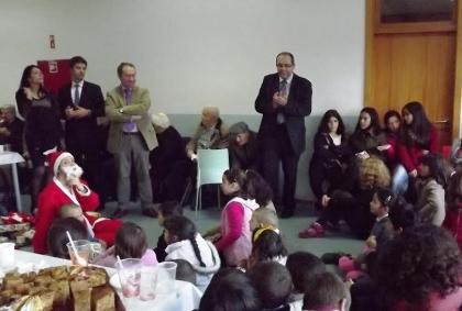 Monção: Idosos e crianças juntaram-se em convívio intergeracional